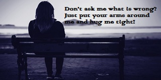 I Need A Hug Quotes And Sayings-Tight Hug Will Make You Feel Better